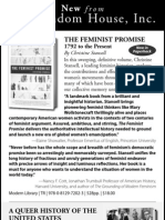 The CHRONICLE REVIEW May 20th Issue Random House, Inc. Gender Studies Ad