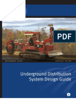 Underground Distribution System Design Guide