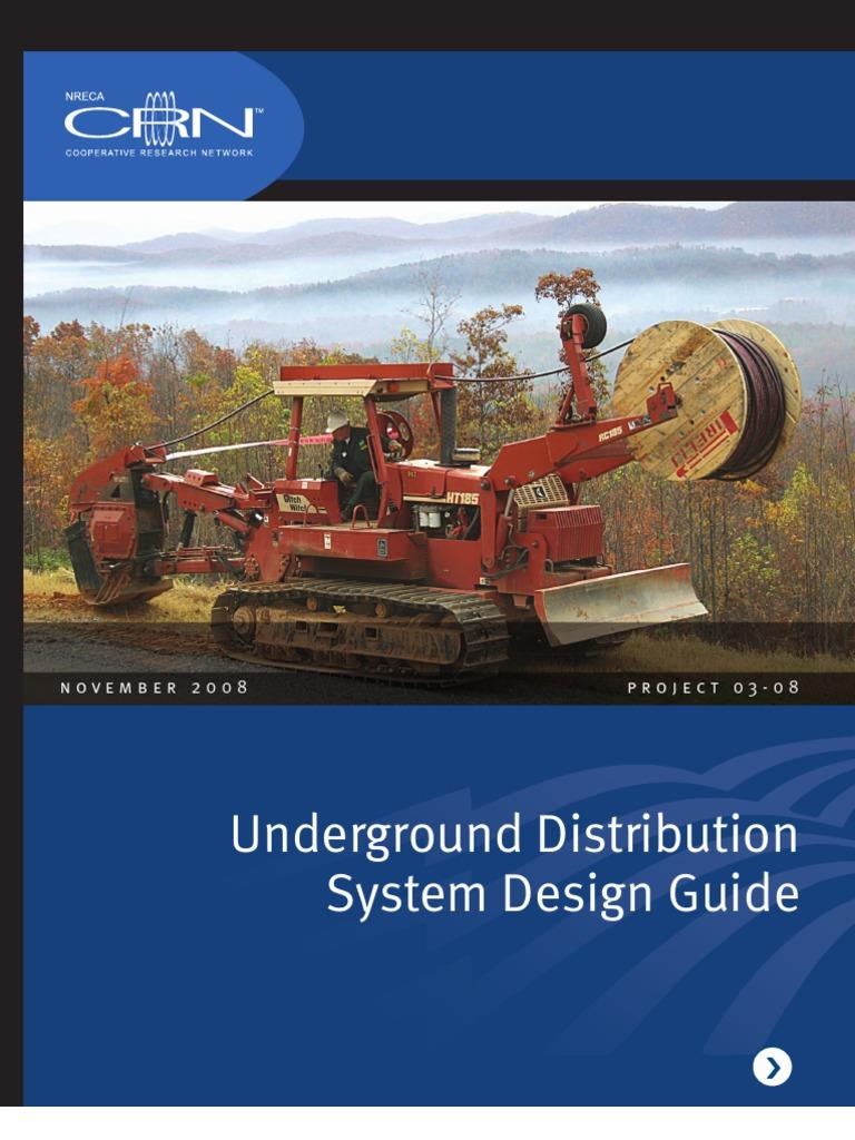Underground Distribution System Design Guide   Insulator ...