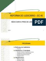 REFORMA DO JUDICIÁRIO - EC 45