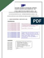 INSCRIÇÕES DOS CARROS DE PASSAGEIROS DA RFFSA - SR2 _ FASE SIGO E PRÉ-SIGO