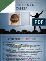 sintaxis MÉTETELO EN LA CABEZA