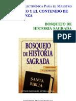 Burroughs P E - Bosquejo de Historia Sagrada
