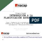 Plan. Estratégica Unidad 1 versión 2011