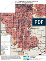 Pedestrian or Bike accidents in South LA.
