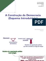 Construção da Democracia