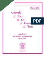 Released Algegra 1
