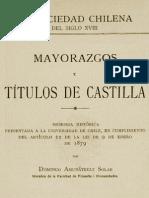 Mayorazgo de Balmaceda