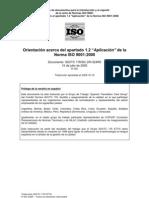 ISOTC_176_SC2_N524_R5 (ES)  Anexo - 1.2 ISO9001