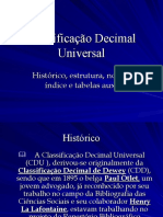 Classificacao Decimal Universal