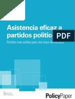 Asistencia eficaz a partidos políticos
