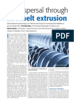 API Dispersal Through Hot Melt Extrusion