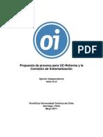 OI - Propuestas de Proceso Para UC-Reforma