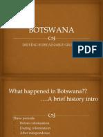 Botswana Definitive