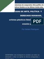 HERBERT RODRÍGUEZ, 3 DECADAS DE ARTE, POLÍTICA Y DERECHOS HUMANOS