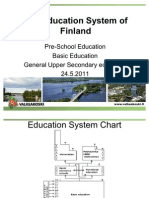 Education System of Finland