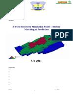 X-Field Study Report