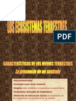 ECOSISTEMAS TERRESTRES