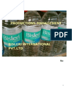 Bisleri Production}