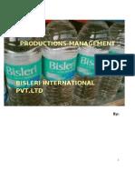 Bisleri Production}