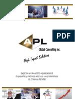 Brochure  APL Consulting Perú s.a