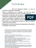 Proyecto, Ciclo Del Agua