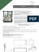 Mobiliario urbano Proiek - Jardinera rectangular DeCo