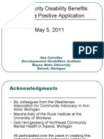 The Developmental Disabilities Institute at Wayne State University Webinar with Autism NOW May 5, 2011
