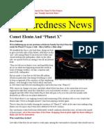 Comet Elenin Planet X - Here Now