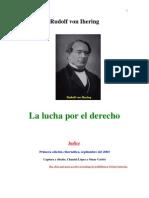 Rudolf Von Ihering-La Lucha Por El Derecho