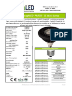 EarthLED ToughLED™ Par 38 Lamp - 11w