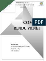 Compte Rendu Vb Net