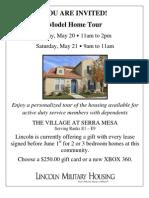 Military Housing Open House Invitation 52011