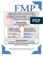 EFMP Benchmark Study Flyer