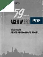 59 tahun Aceh dibawah Pemerintahan Ratu