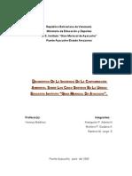Proyecto de metodologia(Diagnóstico Sobre la Incidencia de la Contaminación Ambiental en los 5 Sentidos)