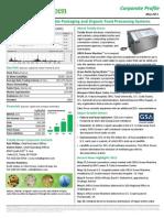 TLGN Corporate Profile - May 2011