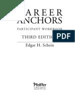 Career Anchors - Participan Workbook