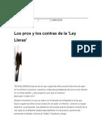 Ley  Lleras