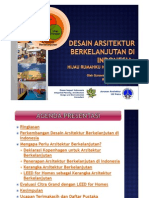 20110525-Gunawan T ST MSc-Arsitektur Berkelanjutan