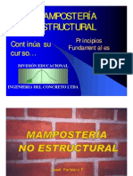 17-Mampostería no estructural
