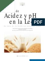 Articulo Acidez y Ph en La Leche