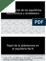 Control renal de los equilibrios electrolíticos y acidobásico