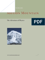 Motion Mountain the Adventures of Physics