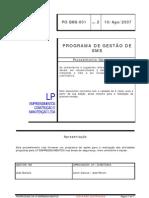 PO-SMS-001 - Programa de Gestao de SMS LP