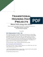 T-Shelter Haiti Projects v 3.6