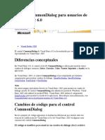 Control Common Dialog Para Usuarios de Visual Basic 6