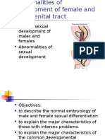 Abnormal Genital Tract Dev