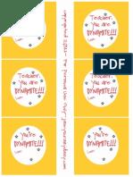 Dynamite Teacher Printable