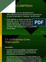 Tema 1 La Empresa